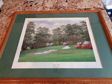 "Charles Beck Signed ""Camelia"" #10 Augusta National Masters Golf Lithograph"
