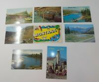 Vintage Postcards MONTANA Lot of 8 Unposted