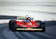 """Gilles Villeneuve French GP 1979.  A2   24""""x18""""   Print"""