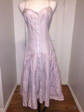 NWT A|X Armani Exchange Dress Lavender Dress Size 14 Silk/Cotton