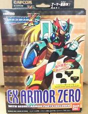 Bandai Megaman Rockman X3 EX Armor Zero Secret Armor Parts Model Kit Free Ship