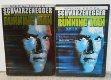The Running Man (DVD 2004 2-Disc Special Edt) RARE SCI FI W / INSERT / SLIPCOVER
