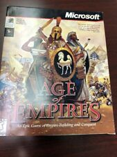 AGE OF EMPIRES I (1) Vintage PC Game 1997 - Original - Big Box Microsoft Windows