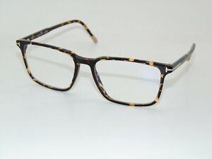 TOM FORD FT 5607-B 056 Spotted Havana Blue Light Blocking 55mm Eyeglasses