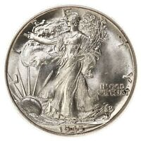 1943 Walking Liberty 50C PCGS Certified MS65 US Mint Silver Half Dollar Coin