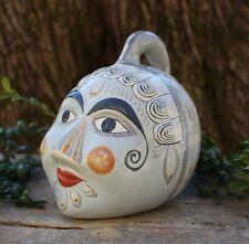 Face Bank Old Style Traditional Handmade Tonalá Pottery Jalisco Mexican Folk Art