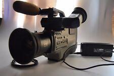 Vídeo profesional cámara Panasonic S-VHS reportero AG 455 pro Line