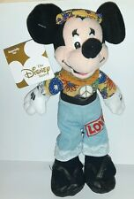 HIPPIE MINNIE DISNEY PLUSH 24Cm. Peluche Topolino Figure Mickey Mouse Pupazzo