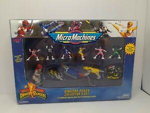 Mighty Morphin Power Rangers Micro Machines Dinozord Power Collector's Set