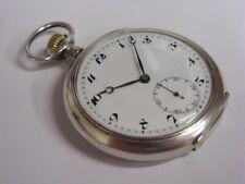 Montre de poche Vacheron & Constantin Genève Antique silver pocket watch 1915