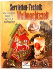 Servietten Technik zur Weihnachtszeit + Ideen für Advent und Weihnachten /53