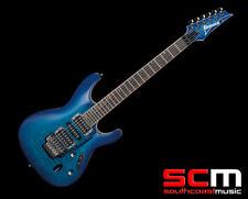 Ibanez S Series S670QM SPB Edge-Zero Tremolo Locking HSH Electric Guitar - NEW