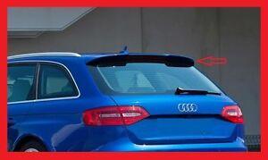 AUDI A4 B8 8K -  SPOILER POSTERIORE TETTO ALETTONE - RS4 look +++NUOVO +++