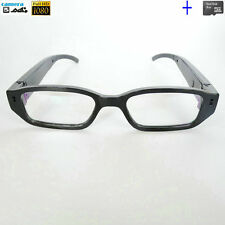 8GB 1080P HD Digital Video Camera Personal Black Glasses Eyewear Camcorder DVR