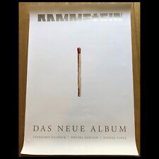 RAMMSTEIN - RAMMSTEIN Original Album Promo Poster Plakat A1 84 x 59 cm