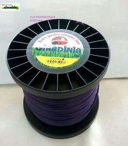 Cable For Trimmer GIARDINIA Professional Violet Round d.4.4 x 88 MT