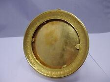 Historismus / Jugendstil Bilderrahmen Feuervergoldet Bronze 13,7 x 13,7 cm  #9