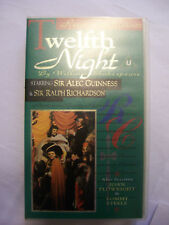 TWELFTH NIGHT [1970] VHS – Alec Guinness, Tommy Steele, Ralph Richardson – RARE!