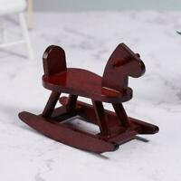 1:12 Dollhouse Miniature Cute Trojan Horse Doll House Red Decor T1Y5