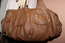 DESIGUAL BAG SIZE U LARGE BROWN BAG EXCELLENT CONDITION