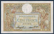 FRANCE - 100 FRANCS L.O MERSON Fay n° 24. 13 du 22-3-1934. en TTB+   M.44317 949