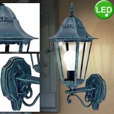 Landhaus Stil LED Haus Wand Lampe dimmbar RGB FERNBEDIENUNG Außen Beleuchtung