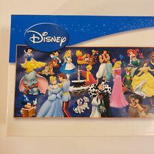 Disney 750 Piece Panorama puzzle princess, pixar, Mickey, Pooh, Etc. - Complete