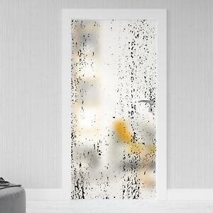 Glastür Aufkleber Sichtschutz Folie Milchglasfolie Glasdekor selbstklebend 068