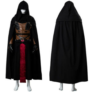 Star Wars Uniform Sith Dark Lord Darth Revan Costume Cosplay Upgrade Ver. Outfit
