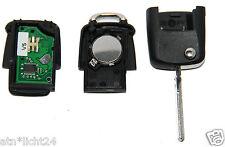 VW SEAT 434mhz 3 teclas Control remoto clave de plegado + chip id48 1ko959753g