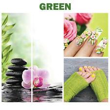 4 GREEN Decoration Calm Salon Spa Themed Murals on Canvas Nail Hand + Foot Art