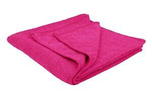 Luxury Bath Towel - Hot Pink - Bath Sheet (Hotel, Spa, Bath) Soft, Absorbent