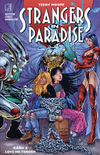 Strangers in Paradise #6 Variant allemand JIM LEE/Terry Moore lim.222 EX signed