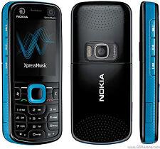 Original NOKIA 5320 Mobile Phone Unlocked Symbian Best Quality Backup Phone Blue