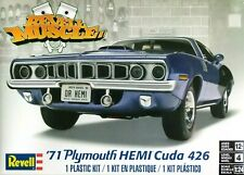 Revell Monogram 1:25 '71 Plymouth Hemi Cuda 426 Car Model Kit