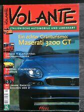 VOLANTE, Zeitschrift, Italienische Lebensart und Autos, 1998, FIAT, ALFA, LANCIA