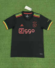 More details for ajax amsterdam 21/22 third jersey bob marley 🟢🟡🔴 three little birds✅large ✅