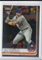Pete Alonso - Mets CHROME ROOKIE CARD 🔥💎 2019 Topps Chrome Update RC #86 MINT