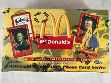 1996 Classic Sprint McDonalds Phone Cards Unopened Sealed Box
