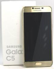 "OPEN BOX- Samsung Galaxy C5 Duos 32GB SM-C5000 (FACTORY UNLOCKED) 5.2"" HD- Gold"
