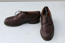 Allen Edmonds Vibram Gumlite 10 D Casual Shoes Brown Leather Lace Up Comfort