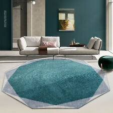 Irregular Thick Round Carpet Living Room Home Round Bedroom Rug Computer Chair