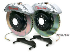 Brembo Front GT Brake 6pot Silver 380x34 Slot ESV EXT 02-06 Chevy GMC 1500 00-06