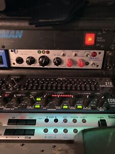 Summit Audio 2BA-221 Tube Mic Line Preamp Instrument Preamplifier Module