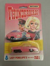 Matchbox Thunderbirds Modellauto Lady Penelope's rosa Rolls Royce FAB 1 1993 Ovp