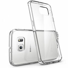 For New Samsung Galaxy S7 Clear Jelly Gel Skin Case Cover Crystal Clear Cover 2