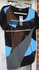 Camisas y tops de mujer de color principal azul talla L