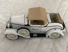 """New Ertl See's Candies 1930 Ford Model """"A"""" Roadster Bank White"""