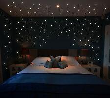 Wandtattoo Leucht Punkte 355 Stk fluoreszierende Pkt. Sterne Sternenhimmel M1172