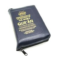 English Translation of The Noble Quran ( Small Pocket Size Quran With Zipper )